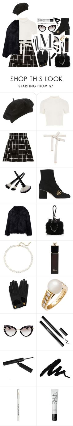 """french"" by dffn-dn ❤ liked on Polyvore featuring John Lewis, Topshop, Marni, Gucci, WithChic, Alexander Wang, Saks Fifth Avenue, Christian Dior, Mulberry and Cartier"