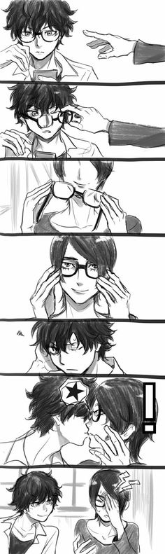 Persona 5    Akira And Yusuke