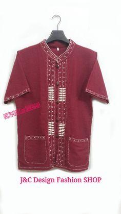 เสื้อผ้าไทยชาย เสื้อผ้าฝ้ายชายแต่งผ้าขลิบลายและปักผ้า เสื้อผ้าพื้นเมืองชายแต่งงานปักผ้า สำเนา