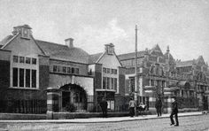 Picton road baths and wash house and library 1910's
