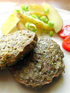 S vášní pro jídlo: Kapustové karbanátky z trouby Meatloaf, Salmon Burgers, Health Fitness, Gluten Free, Cooking, Ethnic Recipes, Hamburgers, Smoothie, Blog