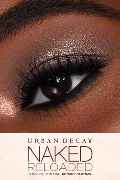 Looking for new makeup ideas and inspo? The Naked Reloaded Eyeshadow Palette from Urban Decay is your one-stop-shop for all of your eyeshadow looks New Makeup Ideas, Makeup Blog, Makeup Inspo, Makeup Inspiration, Beauty Makeup, Makeup Class, Metallic Eyeshadow Palette, Eye Palette, White Makeup
