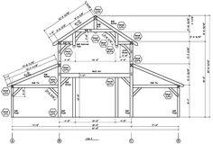 Monitor Style Barn Kit Horse Barn Plans Barn Building