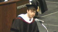 Anders Holm's Highly Accurate Commencement Speech for UW-Madison's Class of 2013