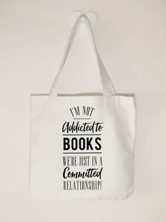 I'm not addicted to books we're just in a by ToastStationery