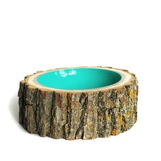 Log Bowl Large Aqua, $195, now featured on Fab.