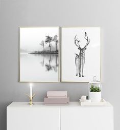 Woods theme wall art