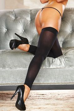 http://www.fantasylingerie.com.au/p/160260/sheer-thigh-high-leg-warmers/?aid=4480 This pair of Sheer Thigh High Leg Warmers $10.95AUD boasts modern appeal with high quality stretch fabric and a stylish opaque welt. Hustler Lingerie Sheer Thigh High Leg Warmers Comfortable enough to wear everyday, these Sheer Thigh High Leg Warmers are the perfect fashion statement. BUY NOW at http://www.fantasylingerie.com.au/p/160260/sheer-thigh-high-leg-warmers/?aid=4480
