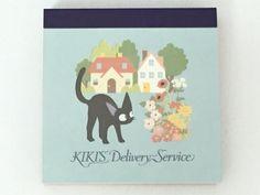 Kiki's Delivery Service Memo Pad 4 Patterns x 25 Sheets Studio Ghibli from Japan | eBay