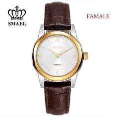 Fashion Genuine Leather 3ATM Quartz Watches for Lovers Causal Wristwatch Mens Watches Top Brand Luxury relogio feminino SM8018