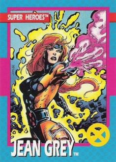 *Formally known as Marvel Girl, Jean Grey is gifted with the psychic powers of telepathy (the power to read minds) and telekinesis ( the power to move things through the use of mental force alone). Marvel Comics Superheroes, Marvel Comics Art, Marvel Comic Universe, Marvel Dc Comics, Comics Universe, Comics Girls, X Men, Comic Books Art, Comic Art