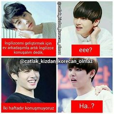 "Read Bangtan boys from the story Bts by JeonKukuu (""JK"") with 215 reads. Funny Video Memes, Bts Memes, Funny Jokes, Ridiculous Pictures, Comedy Pictures, Bts Tweet, L Love You, Foto Jungkook, Funny Laugh"