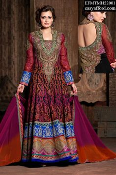 Price is 8025/- For Order Call/Whatsapp 07837409851, 08968017642 or Click the below link http://easyafford.com/20-off/1969-excellent-dia-mirza-multicolor-anarkali-suit.html  #OnlineDesignerSuit #LatestAnarkaliSuit #ChuridarSuit #OnlineSalwarSuit #EthnicWear #IndianWear #BuyDesignerSuits #BuyIndianSuits #BuyGeorgetteSuits #OnlineShopping #MarriageShopping #PartywearSuits #BollywoodSuits #OnlineEmbroideredSuit #PalazzoSuit #LehengaCholi #RoyalDresses #HandworkDress #DiaMirza