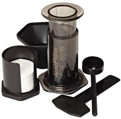 The AeroPress is the ultimate piece of home brew equipment. Buy one and make everything from espresso to filter coffee with one easy to use device! Coffee And Espresso Maker, Best Coffee Maker, Portable Coffee Maker, Aeropress Coffee, Coffee Uses, Brewing Equipment, Instant Coffee, Coffee Filters, Bitterness