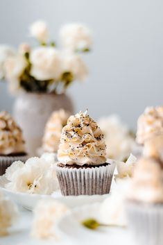 Vanilla Latte Coffee Cupcakes