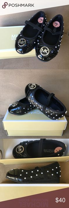 Handcrafted Michael Kors MK Toddler size 7 Toddler size 7 Dress Shoes - Handcrafted Beads - Kids - Fashion - Michael Kors Michael Kors Shoes Dress Shoes