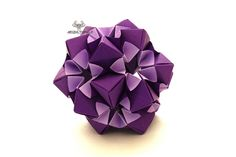 Origami Star Flower Kusudama
