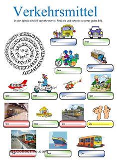 German Language Learning, Teaching Materials, Google Classroom, English Vocabulary, Classroom Activities, Kids Education, Kids Learning, Germany, School