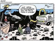 Darn environmentalists...