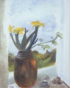 Yellow Iris | Winifred Nicholson