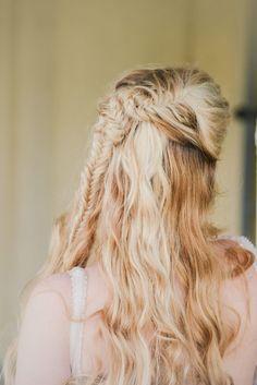 #wedding day #hair Colorado Rebecca Marie Photography | via MountainsideBride.com