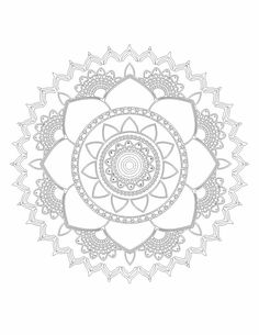 Digital download of Lotus mandala pattern coloring book page. This is an original Mandala design for printing on A2 size paper. Just download, print and color this perfect DIY Mandala wall art. Mandala offers balancing visual elements symbolizing unity and harmony. In this design, lotus signifies creation. The mandala has been designed that it absorbs the mind in such a way that chattering thoughts cease, and a more philosophic or spiritual essence envelops the artist which in turn leads to…