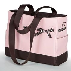 JP Lizzy Diaper Bag Strawberry Truffle Tote Set