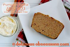 Pumpkin Spice Bread with Coconut Butter
