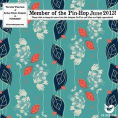 Pin Hop June 2013   A Print and Pattern Design Feast on Pinterest print pattern