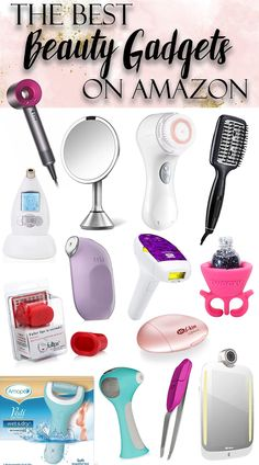 The LATEST in beauty technology - best at-home beauty tech gadgets available on Amazon. DIY your skincare and anti-aging, apply makeup