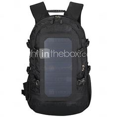 147dbecf892a Outdoor Solar Backpack Outdoor Camping Solar Backpack Solar Hiking Bag 6.5W  Solar Panel With 2.5