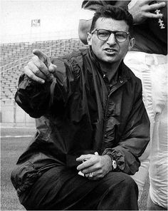 This man is a legend and has defined an entire community. Joe Pa you will always be remembered