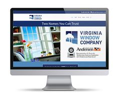 Our Website Design and Hosting Services are designed with a simple idea in mind, feature the benefits of your service and make it easy to contact you. Window Company, Virginia, River, Website, City, Design, Rivers, Cities, Design Comics