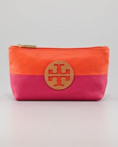 small cosmetic case / tory burch