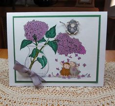 I love lilacs by JD from PAUSA - Cards and Paper Crafts at Splitcoaststampers