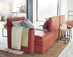 IKEA VALLENTUNA soffmoduler att bygga ihop som det passar dig!