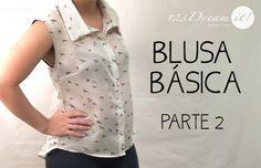 Les compartimos la segunda parte del video para aprender a hacer una blusa básica. ¡Patrones gratis en nuestro sitio web! Ya te registraste? Recuerda que es gratis!