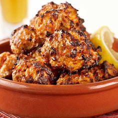 Spanish Chicken and Chorizo Meatballs with Garlic Aioli | KitchenAid Recipe ideas