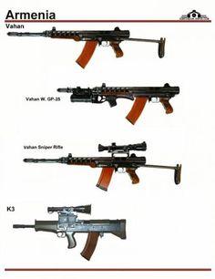 Армения: Vahan, K3, K11 Sniper Rifle