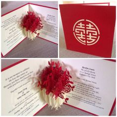 Wedding invitations and Cards with the WOW factor :) POP UP!