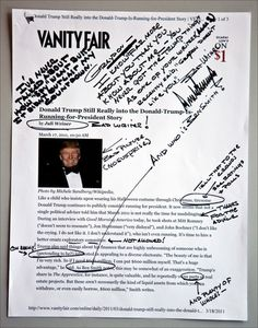 Trump-influenced BF Tiny Hand typeface could be even more despised than Comic Sans.