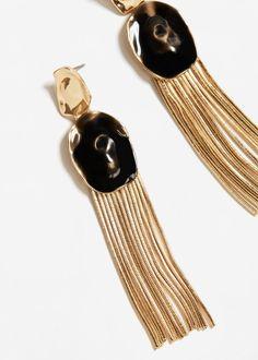 Σκουλαρίκια πολλαπλές αλυσίδες | MANGO ΜΑΝΓΚΟ
