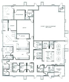 Veterinary floor plan: Animal Allergy and Dermatology Specialists