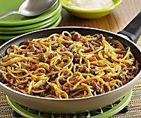 Frontier Chicken Noodle Casserole | MrFood.com