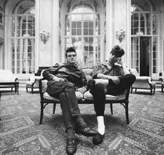 Morrissey and Ian McCulloch