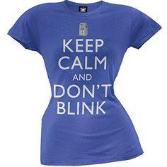 Doctor Who - Keep Calm diseño de los boca T-de manga corta de mujer #camiseta #friki #moda #regalo