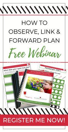 A free webinar on early learning observations, linking and forward planning - a free planning cycle webinar for early learning educators - Loveety Outdoor Learning Spaces, Kids Outdoor Play, Outdoor Play Areas, Outdoor Games, Play Based Learning, Early Learning, Planning Cycle, Early Childhood Program, Family Day Care