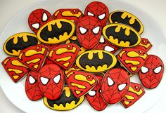 Superhero Squad by SweetSugarBelle, via Flickr