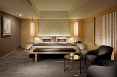 The Capitol Hotel Tokyu Japanese Bedroom, Zen House, Vientiane, Bedroom Carpet, Contemporary Bedroom, Interior Design Living Room, Home, Bedrooms, Bedroom