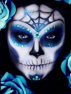 Maquillaje Halloween: Calaveras mexicanas 8
